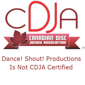 Proud member Of The Canadian Disc Jockey Association (844) 235-2357